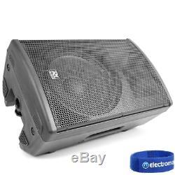 Haut-parleur Actif Dj Pa Système Bi-amplified Disco Professional Bluetooth 12 1400w