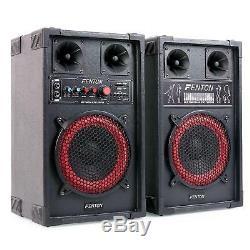 Haut-parleur Actif Haut-parleur De Micro Microphone 400 W Haut-parleurs Actifs Paire Disco Party