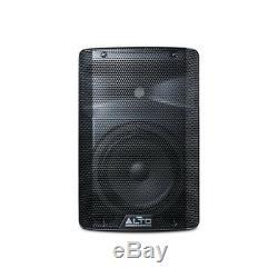 Haut-parleur Alto Tx208 Active Powered 8 Dj Disco (paire) Avec Câbles Gratuit