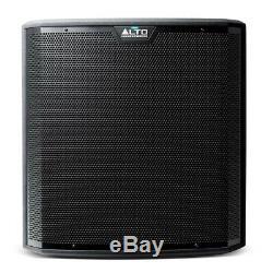 Haut-parleur Alto Tx215 Active 15 Dj Disco (paire) & Subwoofer Alto Ts215s (paire)