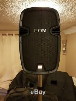 Haut-parleur Jbl Eon Active Pa & Système Double Auxiliaire Avec Micro Et Mixeur Dj Disco Band 18