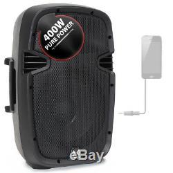 Haut-parleur Portatif Puissant 10 Woofer 400w Pour Mobile Dj Disco Party