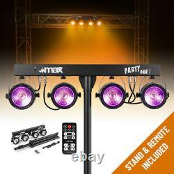 Haut-parleurs Actifs Complets Système De Sonorisation Avec Partybar Cob Par Disco Stage Lights