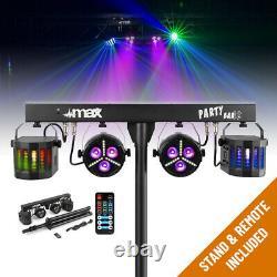 Haut-parleurs Actifs Complets Système De Sonorisation Avec Partybar Par Derby Disco Stage Lights