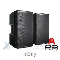 Haut-parleurs Alto Ts315 Active 15 1000 W Rms Pour Dj Disco Pa (paire) Avec Câbles Gratuit