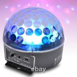 Haut-parleurs Bluetooth Disco Alimentés Avec Mélangeur De Microphones Karaoké Et Lumière De Partie