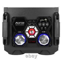 Haut-parleurs Bluetooth Karaoke Party Avec Disco Lights Mp3 Media Music Player 12