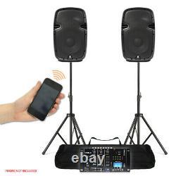 Haut-parleurs Et Usb Mp3 Bluetooth Compact Haute Puissance 10 Pa Dj Stand Mixer Disco