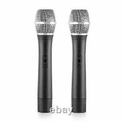 Haut-parleurs Pa Karaoke System Microphone Sans Fil X2 Disco Party Set Active 1200w