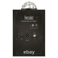 Hercules Dj Monitor 32 Haut-parleur Moniteur Système Led Effet De Lumière Partie Disco