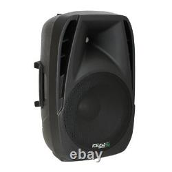 Ibiza Bt10a Active Speaker 10 250w Pa System Bluetooth Dj Disco