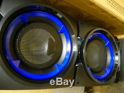Ibiza Son Standup308 De Portable Actif Lumières Bluetooth Haut-parleur Et Discothèque Nouveau