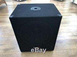 Ibiza Son Sub15a 15 Bin Active Bass Subwoofer 800w Dj Disco Pa Sound System