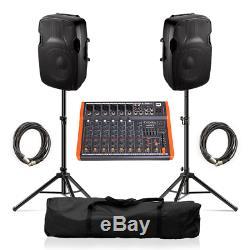 Ibiza Son Xtk10a Active Speaker 10 600w Sound System Dj Disco Mixer Inc
