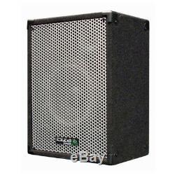 Ibiza Sound Cube1208 Système De Sonorisation Actif 1400w Système De Sonorisation Dj Disco 2.1
