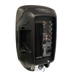 Ibiza Sound Xtk8a Haut-parleur Actif 8 200w Dj Disco Sound System B-stock