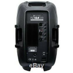 Kam Rz12a V3 Active 1000w Dj Président Disco Sound System Pa Bundle Noir