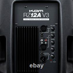 Kam Rz12a V3 Active 1000w Haut-parleur Dj Disco Sound System Pa B-stock