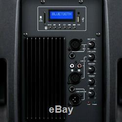 Kam Rz12a V3 Bluetooth Active Speaker Pa Dj Disco 1000w Max 250w Rms Carte Sd Usb