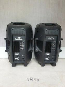 Kam Rz15a 15 1200w Portable Speaker Actif Pa Pour Dj Disco Étape Weddings X2