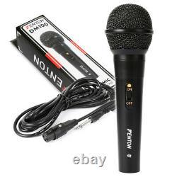Karaoke Pa System Bluetooth Disco Party Speakers Avec Microphones Câble Mp3