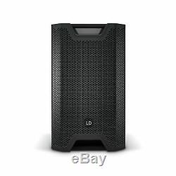 LD Systems Icoa 15a 15 300w Dj Disco En Direct Coaxial Wedge Actif Pa Haut-parleur