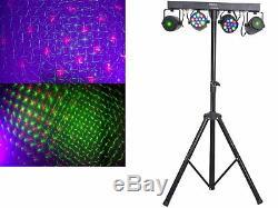 L'ensemble 14 Dj 30cm Haut-parleurs Trépied 38 CM Caisson De Graves Musicien 3000w Lumière