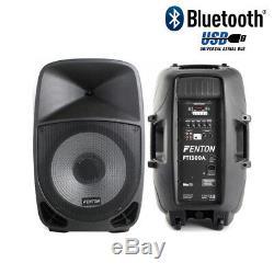 La Partie Mobile De Disco De Disco De Bluetooth Mobile De Pa De Haut-parleurs De Dj Allume 15 350w