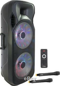 Light Party & Sound Party-215rgb 900w Portable Speaker & Disco Lights