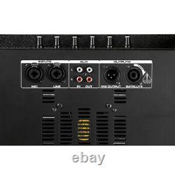 Loud Pa Speaker & Subwoofer Son System For Mobile Dj Disco Party Easy Setup