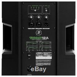 Mackie Thump 12 Haut-parleurs De Sonorisation Actifs Dj Disco Active 12a V4 2600w (paire)