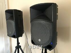 Mackie Thump 12a Active 12 Dj Disco Musician Band Haut-parleurs Pa Stands Câbles