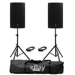 Mackie Thump 12a V4 Actif 12 Dj Disco Musicien Haut-parleurs Inc Supports Et Câbles