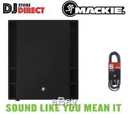 Mackie Thump 18s V3 Th-18s V3 Sono Amplifié Actif Dj Disco Sub Subwoofer Gratuit Xlr