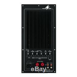 Monacor Sam-2 Caisson De Grave Actif Module D'amplificateur De Puissance 200w Enceinte De Sonorisation Dj Disco