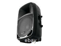 Omnitronic 10î Bluetooth Active Speaker Mp3 Usb Sd Dj Pa Disco Karaoke Party