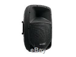 Omnitronic 12i Bluetooth Active Speaker Mp3 Usb Sd Dj Pa Disco Party Karaoke