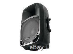 Omnitronic 8î Bluetooth Haut-parleur Actif Mp3 Usb Sd Dj Pa Disco Karaoke Party