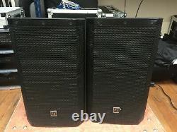 Pair Electrovoice Zlx12p 12 Haut-parleur Alimenté Avec Covers Dj Disco Pa Sound System