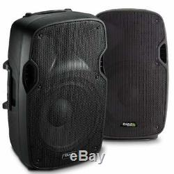 Paire 12 Pouces Active Powered Dj Disco Pa Speaker System Ibiza Xtk12a 1000w Max