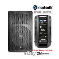 Paire Active Dj Haut-parleurs Pa Système Pro Bi-amp Disco Bluetooth 15 2800w + Stands