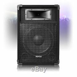 Paire De 12 Haut-parleurs Dj Actifs Amplifiés Disco Party 1200w