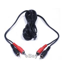Paire De Haut-parleurs Disco Dj Mobile Powered Powered 10 Mobiles Avec Supports Et Câbles, 800 W
