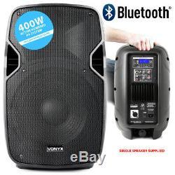 Paire De Haut-parleurs Dj Disco Amplifiés Actifs Mp3 Bluetooth Vonyx Hi-end 10 Avec Supports