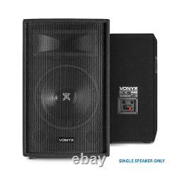 Paire De Haut-parleurs Vonyx 10 Passive Dj Pa Avec Stands 1000w Mobile Disco Set