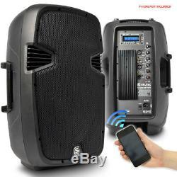 Paire De Haut-parleurs Vonyx Active Powered Dj Disco Pa Sans Fil Bluetooth 12 1200w