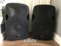 Paire De Kam Rz12a V3 Active 1000w Haut-parleurs Dj Disco Son Système De Sonorisation Et 2 Stands