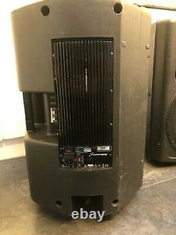 Paire De Studio Master Vpx15 400w Rms 15 Powered Active Speakers Pa Disco