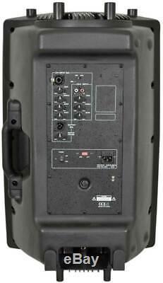 Paire Dj 15 Pouces Abs Actifs Haut-parleurs Disco Party Sound System 1000w