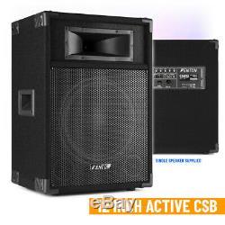 Paire Fenton Csb12 Haut-parleurs Actif 12 Accueil Karaoke Disco Party 1200w